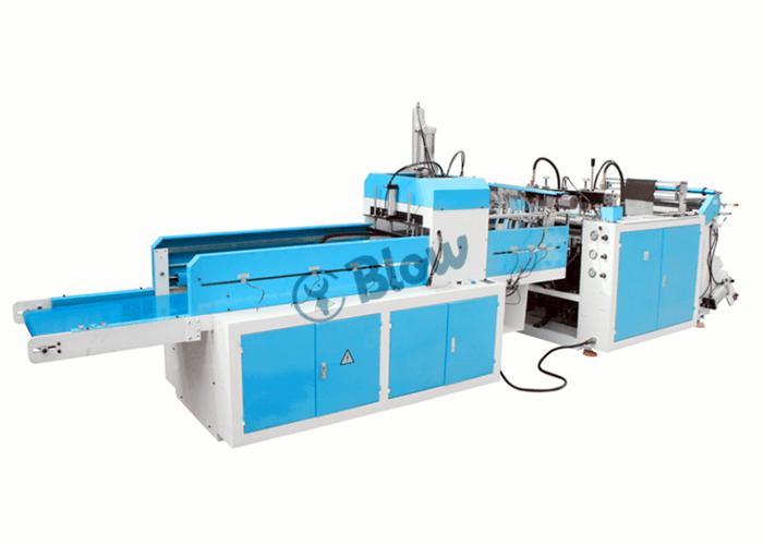 Single Layer Single Line Hot Cutting T shirt Bag Maiking Machine